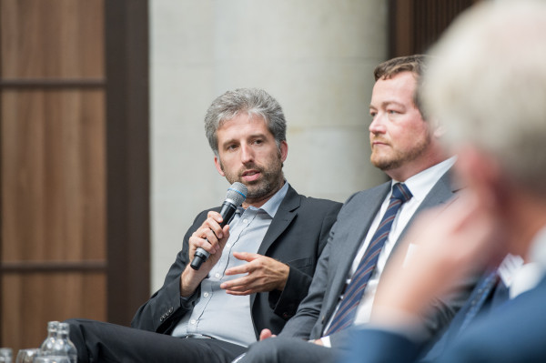 Boris Palmer in der Diskussion