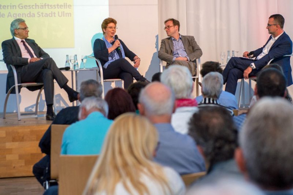 Diskussion Digitales Ulm; Meigel; OB Czisch, Bürger